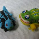 Kenyan Cricket Clicker + Wind Up Frog Toys