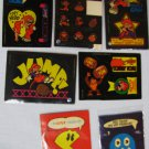 PAC-MAN Sticker Trading Card Promos 1982