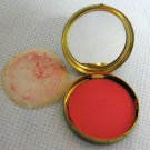 Vintage Coty Air Spun Rouge Metal Compact Blush