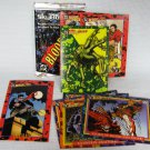 DC Comics Bloodlines Trading Cards Lot + 2 Sealed Packs 1993