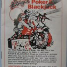 Intellivision Las Vegas Poker & Blackjack Game Manual