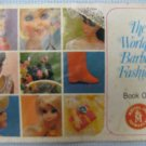 The World of Barbie Fashions Book One Mattel 1968