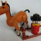 Fisher Price Western Sheriff Horse + Accessories
