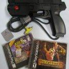 Namco GUNCON NPC-103 Light Gun PlayStation + Gunfighter