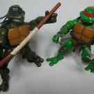 TMNT Don Raph Ninja Turtles Figures 2003