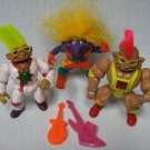 Vintage STONE PROTECTORS Figures Lot - Trolls
