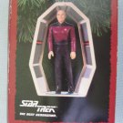Hallmark TNG Captain Jean Luc Picard Star Trek Ornaments MIB 1995