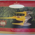 Hallmark Naboo Starfighter Star Wars Ornaments MIB 1999
