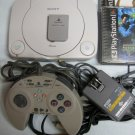 PSone Mini System + 5 Games Complete Ready To Play - Playstation