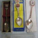 Souvenir Spoons Lot of 3