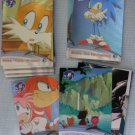 Sonic X The Hedgehog Trading Cards Lot Score