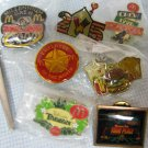 McDonalds Crew Pins Lot Ronald McDonald House Monopoly Divot Fixer Disney
