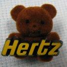 Hertz Rental Car Teddy Bear Pin