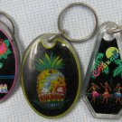 Vintage Aloha Hawaii Islands Souvenir Acryllic Keychains