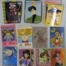 Sailor Moon 80 Cards Lot - Foils Amada Pull Pack Collection