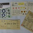 Decals Sheets Airfix Italeri Esci n More 1:72 Model Kits