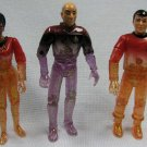 Star Trek Transporter Series Figures Lot Picard Playmates