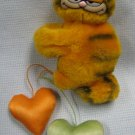 Garfield Dangling Hearts Plush Clip-On