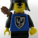 Lego Black Falcon Knight Mini Figure -Bow