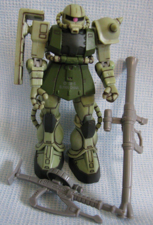 Gundam ZAKU Action Figure Bandai