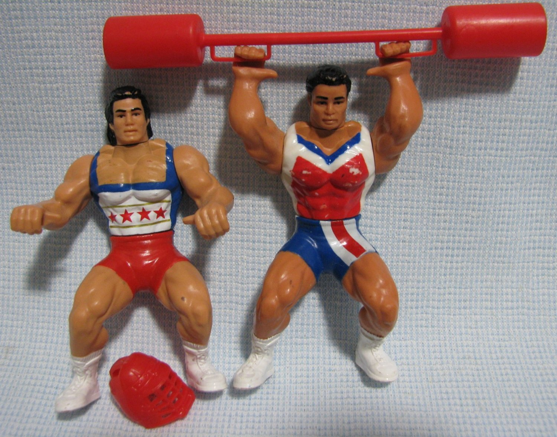 American Gladiators NITRO + TURBO Figures