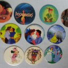 Disney Pogs Lot Minnie Pocahontas Peter Pan Slammers Milk Caps