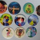 Disney Pogs Lot Minnie Pocahontas Peter Pan Slammers Milk Caps