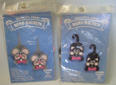 Delightful Dingee Memo Magnet Kits Kappie Originals 1988