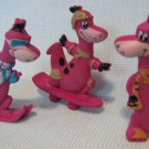 The Flintstones 3 Dino Fruity Pebbles Cereal Premiums Hanna Barbera