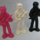 Star Patrol Figures Processed Plastic Armed Aliens