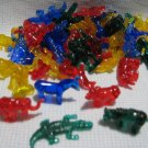 48 Plastic Zoo Animal Charms Gumball Toys Prize