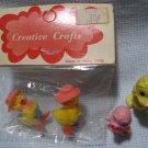 Creative Crafts Chicks Figures MIP Hong Kong