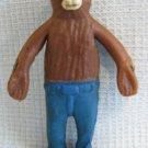 Vintage Mini SMOKEY THE BEAR Bendy Figure Lakeside Ind