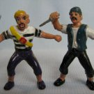 Pirates Plastic Figures Painted Diorama Toys