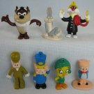 Arby's Looney Tunes Figures Elmer Taz Bugs Tweety Sylvester