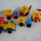 Utility Construction Toys Trucks West Germany
