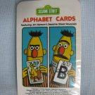 Vintage 1978 Sesame Street Bert Alphabet Cards