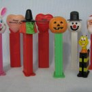 PEZ Dispensers Lot Snowman Cheerios Valentine Witch Santa +More
