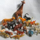 Plastic Jungle Animals 20 Safari PVC Figures