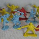 Pirates Plastic PVC Figures Diorama Toys