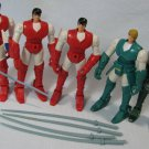 Ronin Warriors Figures Lot Ryo Sage Playmates 1995