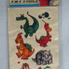 Vintage Fantasy Dragons Temporary Tattoos MIP