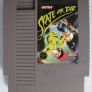 NES SKATE OR DIE Nintendo Video Games