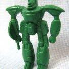Larami Green Robot Plastic PVC Figure