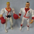 Vintage Karate Boxer Wrestlers Fighters Action Figures