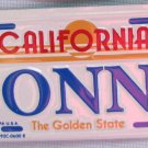 "Vintage California ""DONNA"" Mini License Plate Bike Pedal Car"