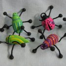 Colorful Insects Lady Bugs Toys Lot