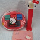 Hello Kitty Rubber Stamp Notepad Set + Pez Dispenser by Sanrio