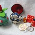 Pokemon Pocket Monsters Toy Collection Nintendo Bulbasaur Polywhirl