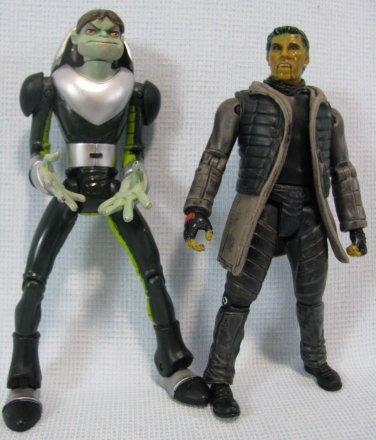 X-men Toad Figures Ray Park + Evolution Loose Marvel Toy Biz